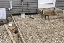Picture frame concrete patio – Sturtevant, WI