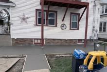 Concrete patio – Racine, WI