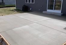 Concrete patio – Mt. Pleasant, WI
