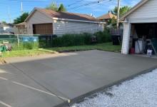Concrete driveway – Racine, WI
