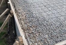 Concrete garage slab – Mt. Pleasant, WI