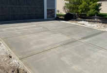 Driveway for new construction - Sturtevant, WI